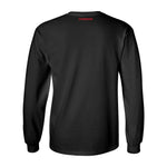 Nebraska Rainbow Outline N Long Sleeve Tee Shirt