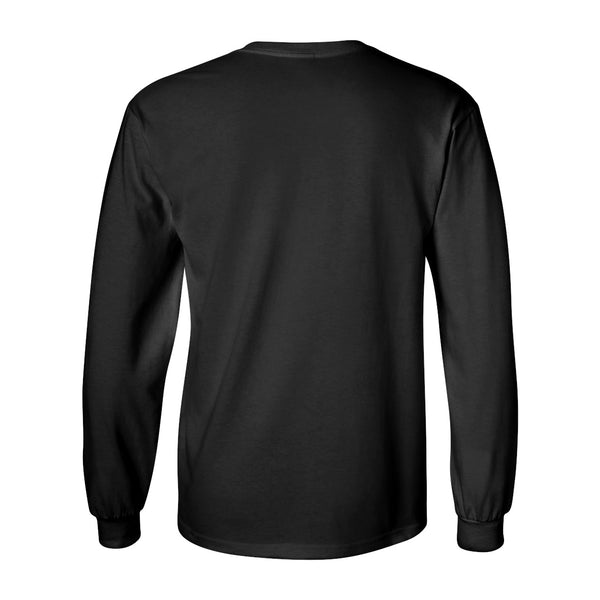 Iowa Hawkeyes Long Sleeve Tee Shirt - Arched IOWA with Tigerhawk Oval