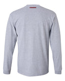 Nebraska Cornhuskers Football West Stadium Long Sleeve Tee Shirt
