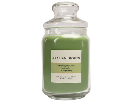 Arabian Nights Scented Candles Large Size