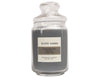 Black Amber Scented Candles Large Size