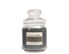 Black Amber Scented Candles Medium Size