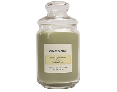 Champane Scented Candles Large Size
