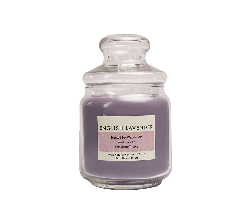 English Lavender Scented Candles Medium Size