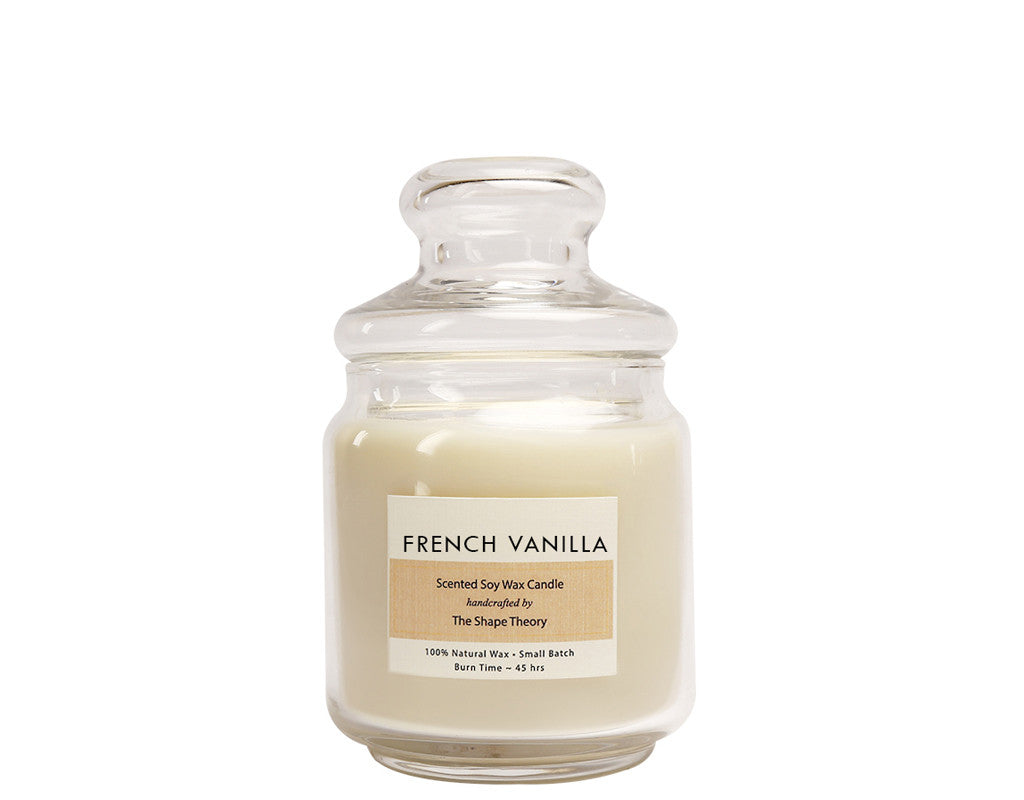 French Vanilla Scented Candles Medium Size