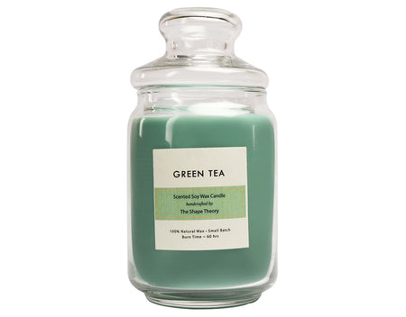 Green Tea Scented Candles Large Size