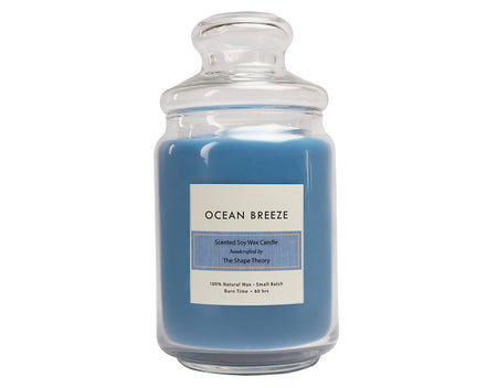 Ocean Breeze Scented Candles Large Size