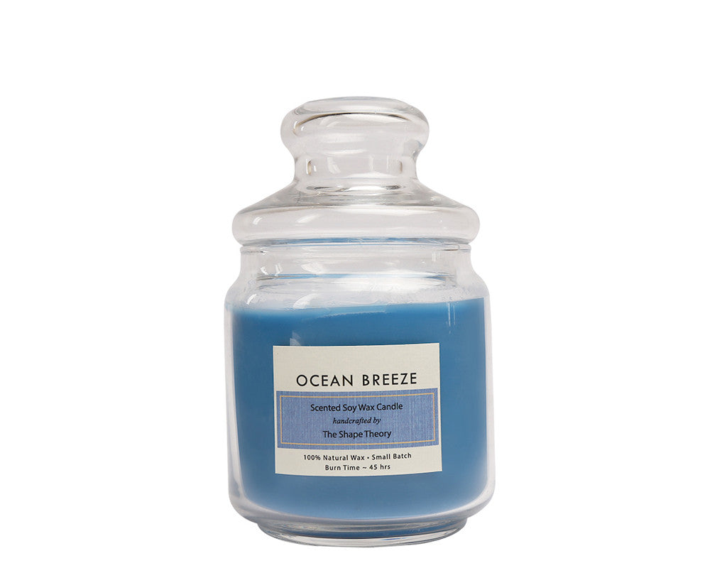 Ocean Breeze Scented Candles Medium Size