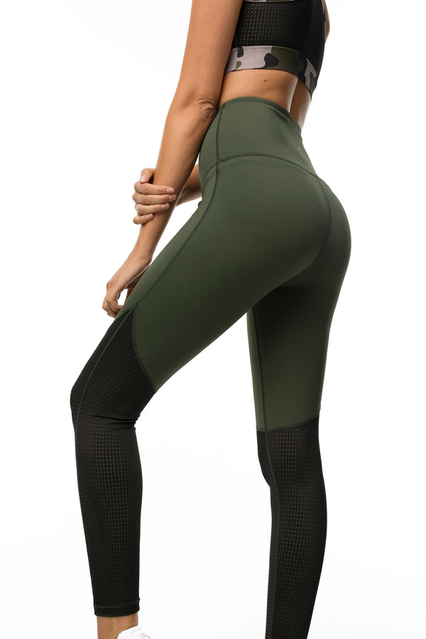 Split-Mesh Legging