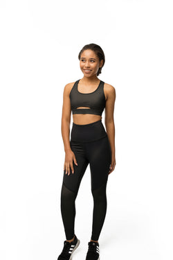 The Split Mesh Legging