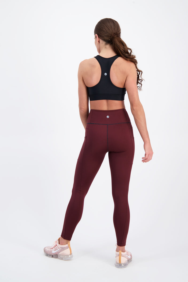 JESSICA LEGGING 2.0 • WINE • XS ONLY