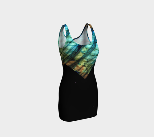Robin Zendayah Body Alchemy Dress - Labradorite 1