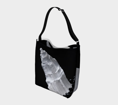 Robin Zendayah Environmental Alchemy Bag - Selenite & Black Tourmaline