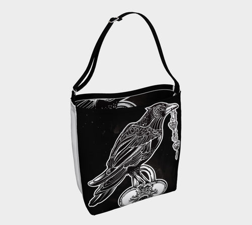Robin Zendayah Environmental Alchemy Bag - Raven Heart 2