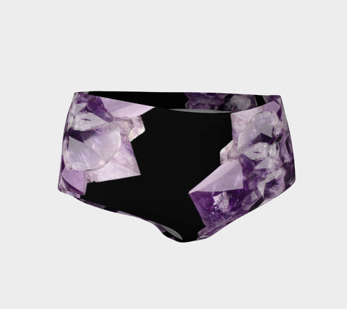 Robin Zendayah Body Alchemy Mini Shorts - Amethyst Two