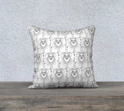 Robin Zendayah Environmental Alchemy Pillow Case -  Pendulum Wolf