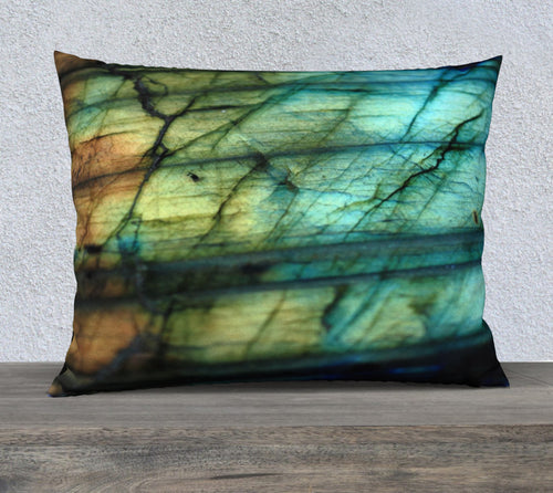Robin Zendayah Environmental Alchemy Pillow Case -  Labradorite 1