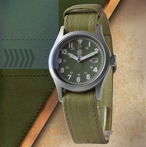 Smith & Wesson Military Watch- 3 Changeable Straps