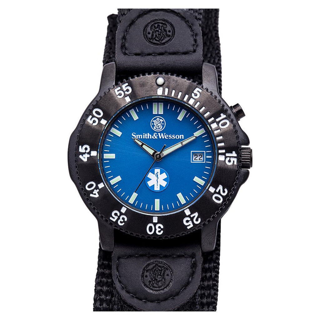 Smith & Wesson EMT Watch- Back Glow