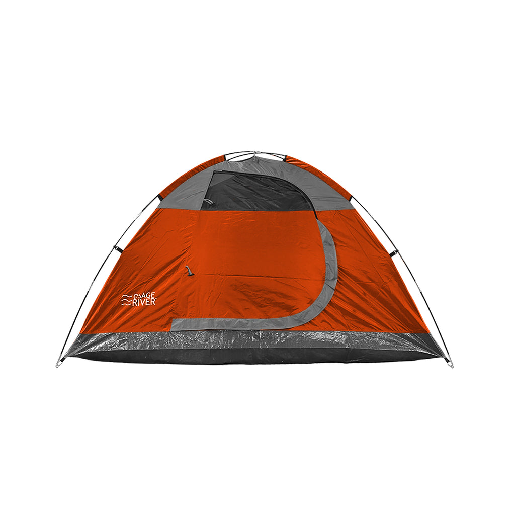 Osage River Glades 4-Person Tent - Orange-Titanium