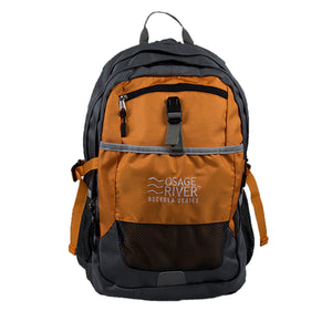 Osage River Osceola Series Daypack - Titanium-Orange