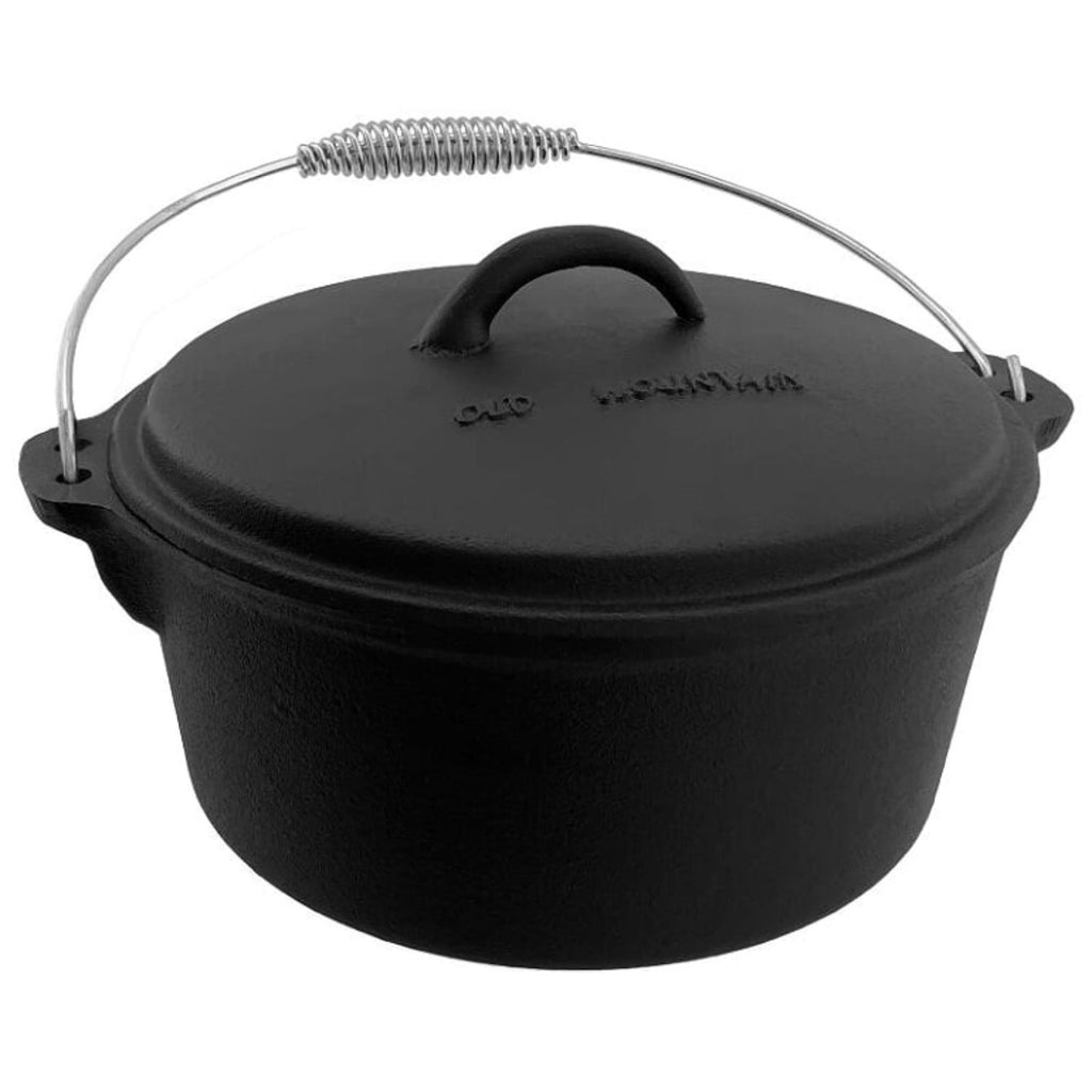 Old Mountain 4.5 Quart Flat Bottom Dutch Oven
