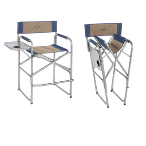 Kamp-Rite High Back Directors Chair with Side Table