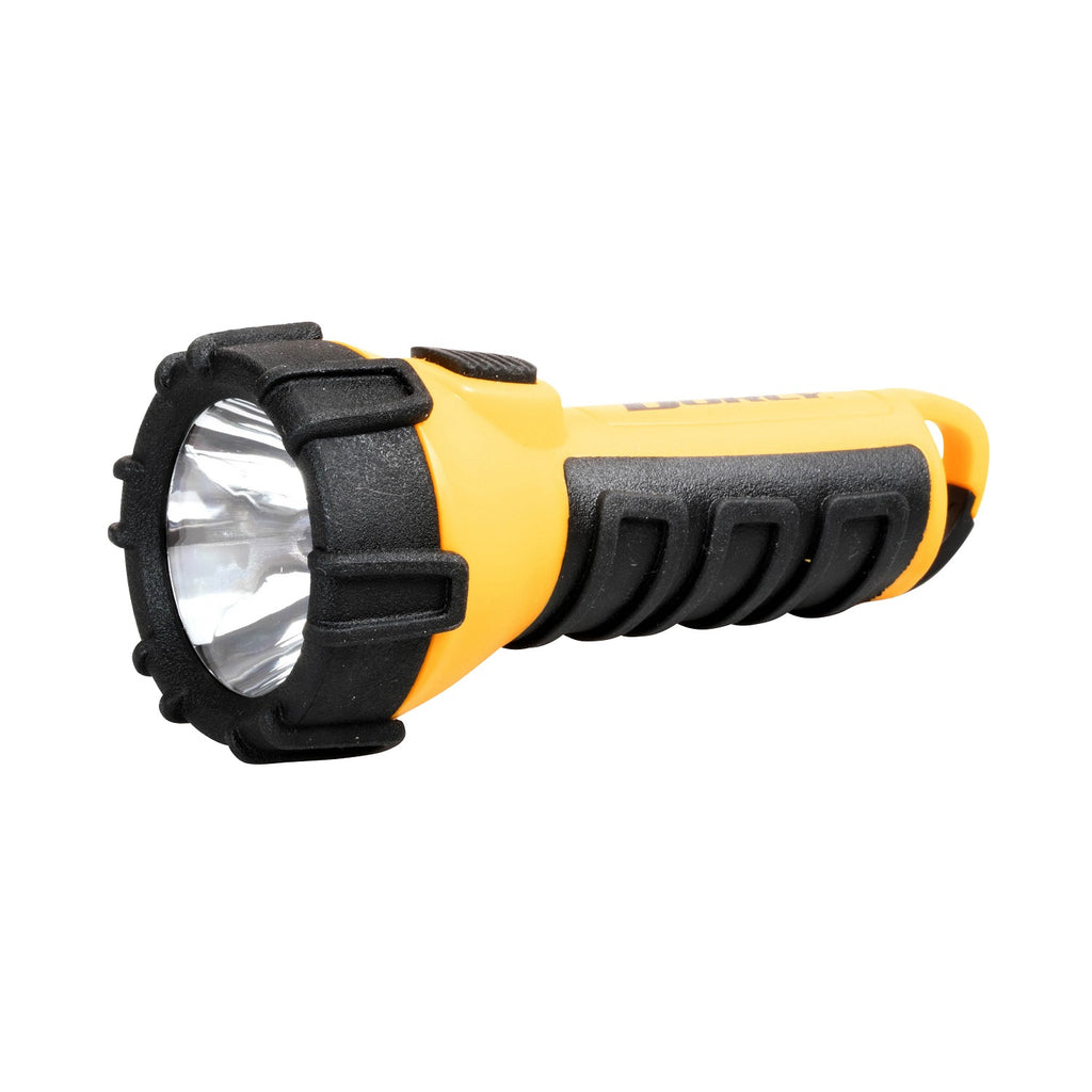 Dorcy 3AAA LED Floating Flashlight with Carabiner Yellow