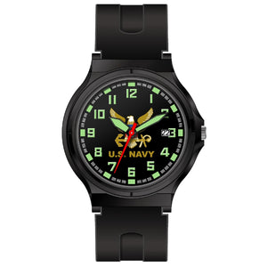 Aquaforce Analog Watch U.S. Navy Logo