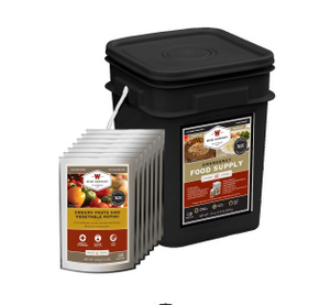 WISE FOODS ENTREE BLACK BUCKET 60 SERVINGS