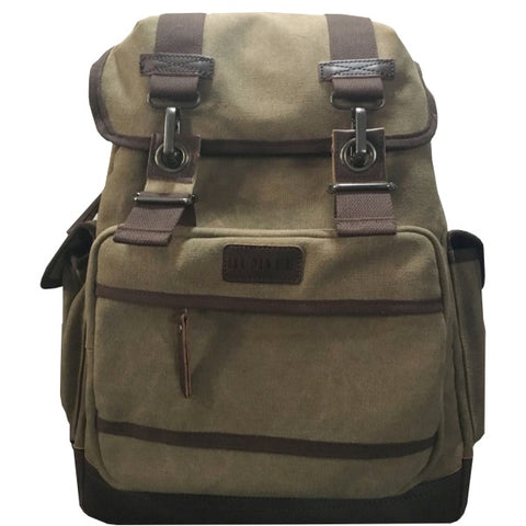 TRAVEL BACKPACK  - BROWN