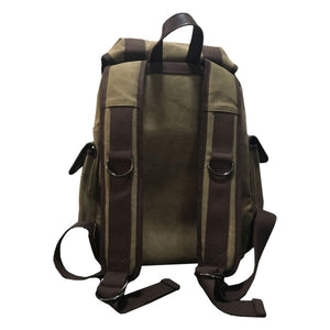 TRAVEL DUFFEL BAG - BROWN