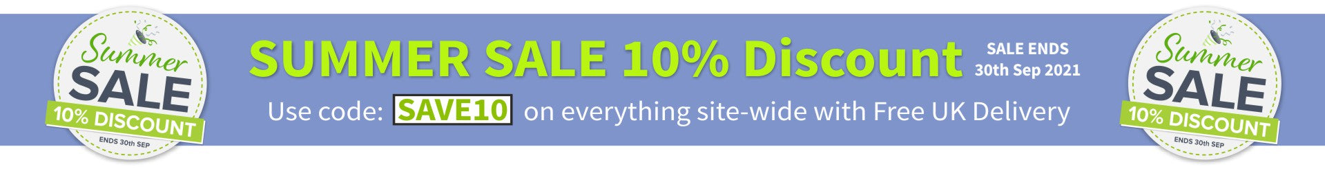 Summer sale now on