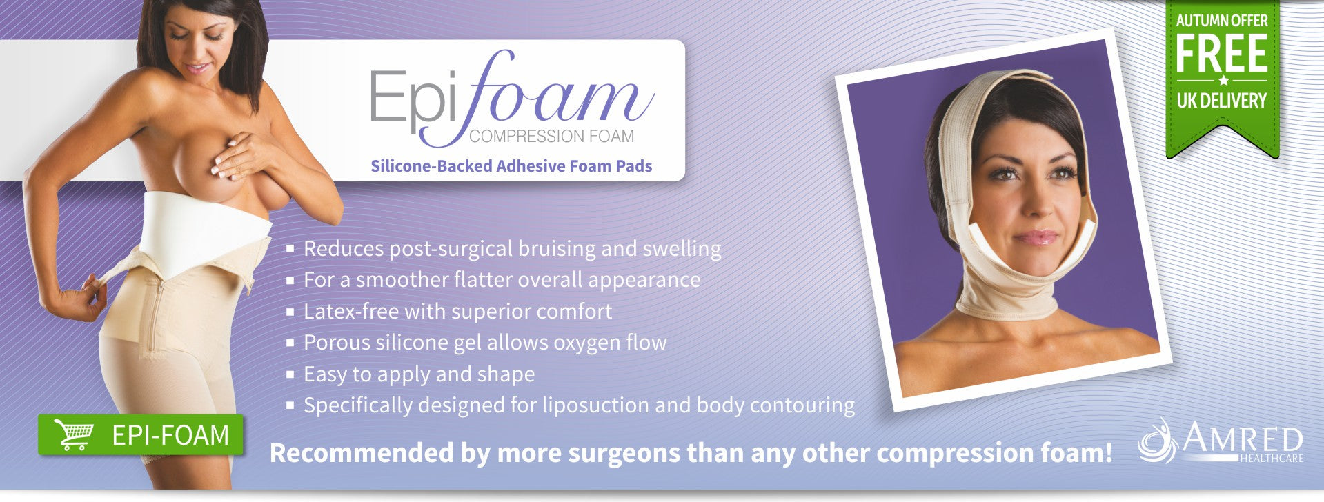 iodermis compression foam for post liposuction results
