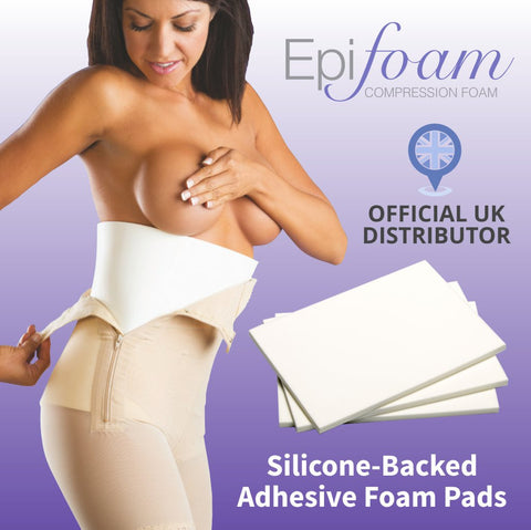 Biodermis Lipo Compression Foam Pads / sheets. Smoother, flatter post lipo results