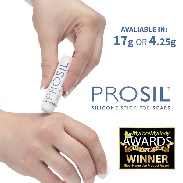 Pro-Sil Silicone Scar Stick the best treatment for scars available
