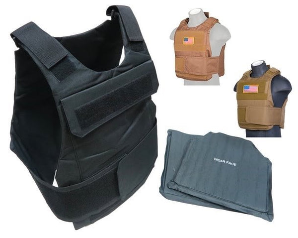 Level III and IIIA emergency ballistic set - Holt Tactical Solutions