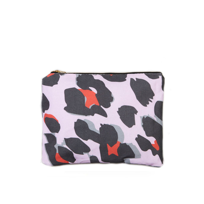 Make up Bag in Leopard Print