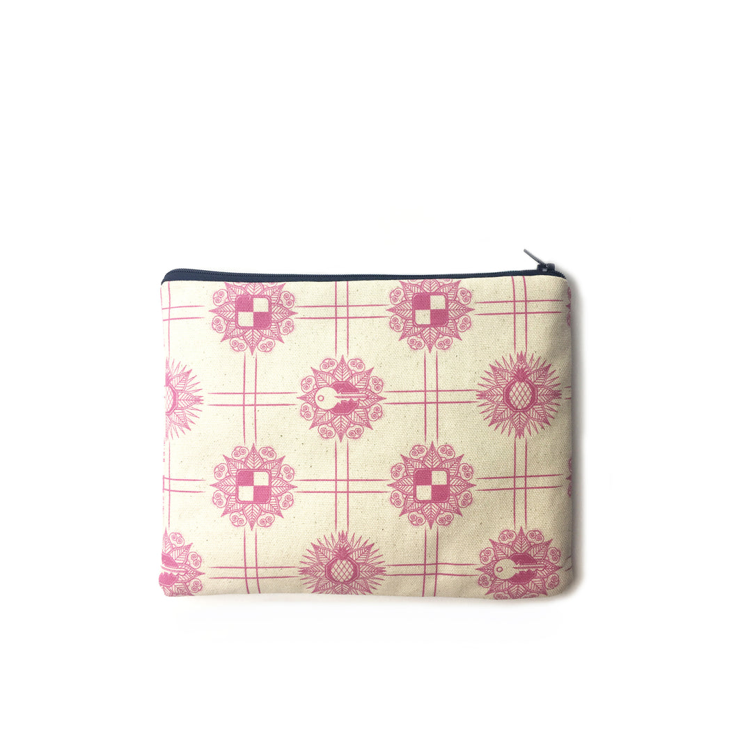 Make up Bag in Retroapple Print