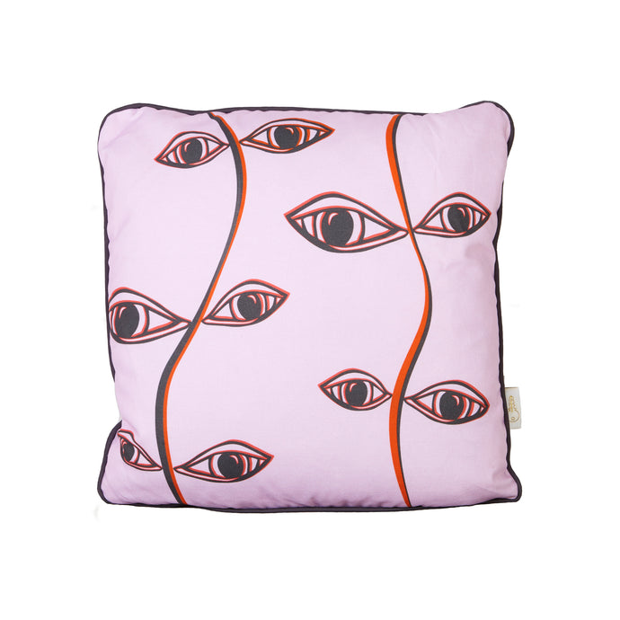 Pink Vine Cushion Cover