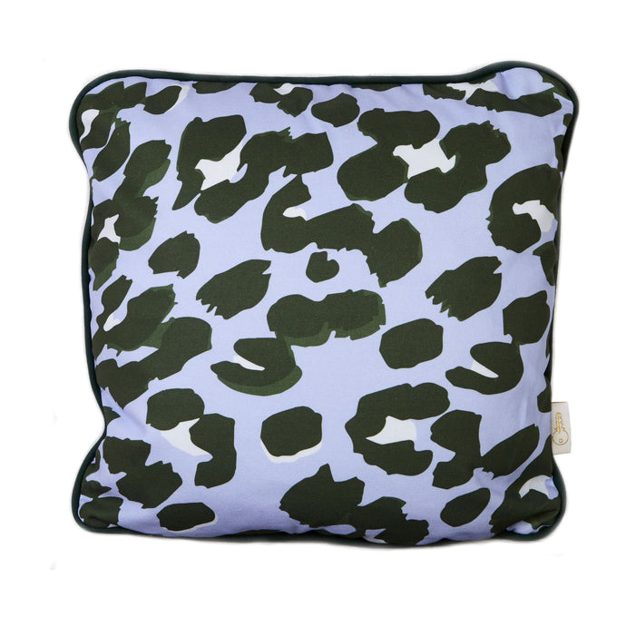 Purple Leopard Cushion Cover
