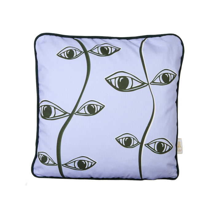 Purple Vine Cushion Cover