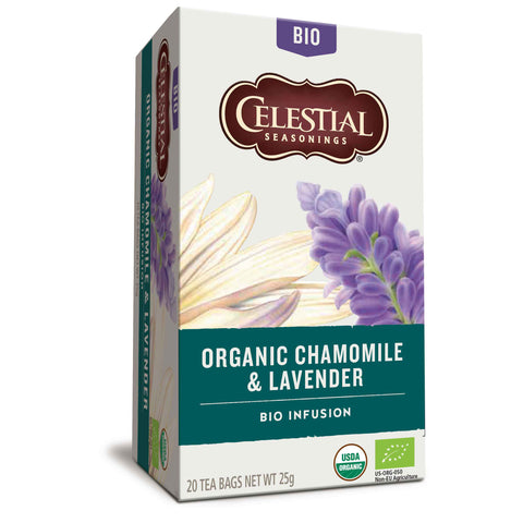 Organic Chamomile & Lavender Herbal Tea 20 bags