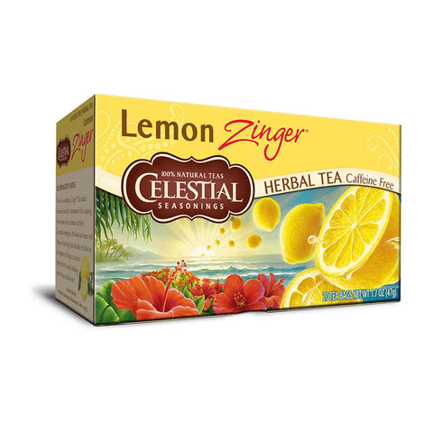 Celestial Seasonings Lemon Zinger Tea 20 Bags