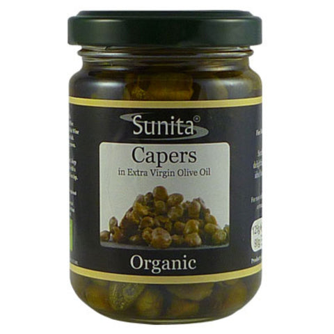 Organic Capers In Olive Oil 125g