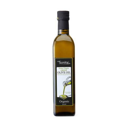 Organic Greek Extra-Virgin Olive Oil 500ml