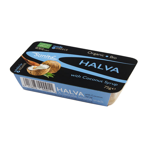 Organic Halva with Coconut Syrup 75g