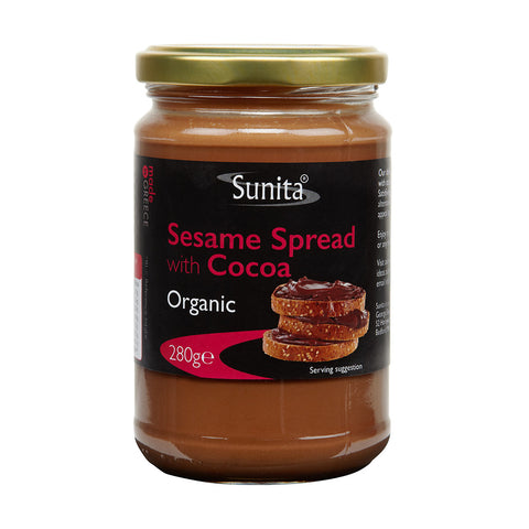 Organic Sesame Spread with Cocoa 280g