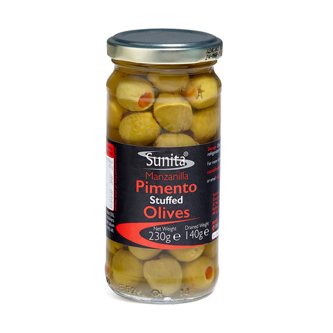 Pimento Stuffed Olives 230g