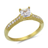 Cubic Zirconia Engagement/Wedding Ring Set
